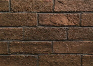 China Wall Facing Bricks Exterior Wall Tiles Heat Resistant 4mm Thickness supplier