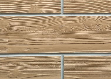 China Wood Like Flexible Wall Tiles , Decorative Ceramic Tile Modified Clay Material distributor