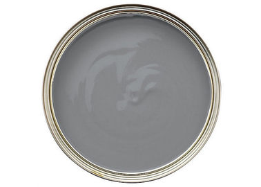 China Anti - Mildew Matt Grey Emulsion Paint Strong Intensity 30 Mu / Layer distributor
